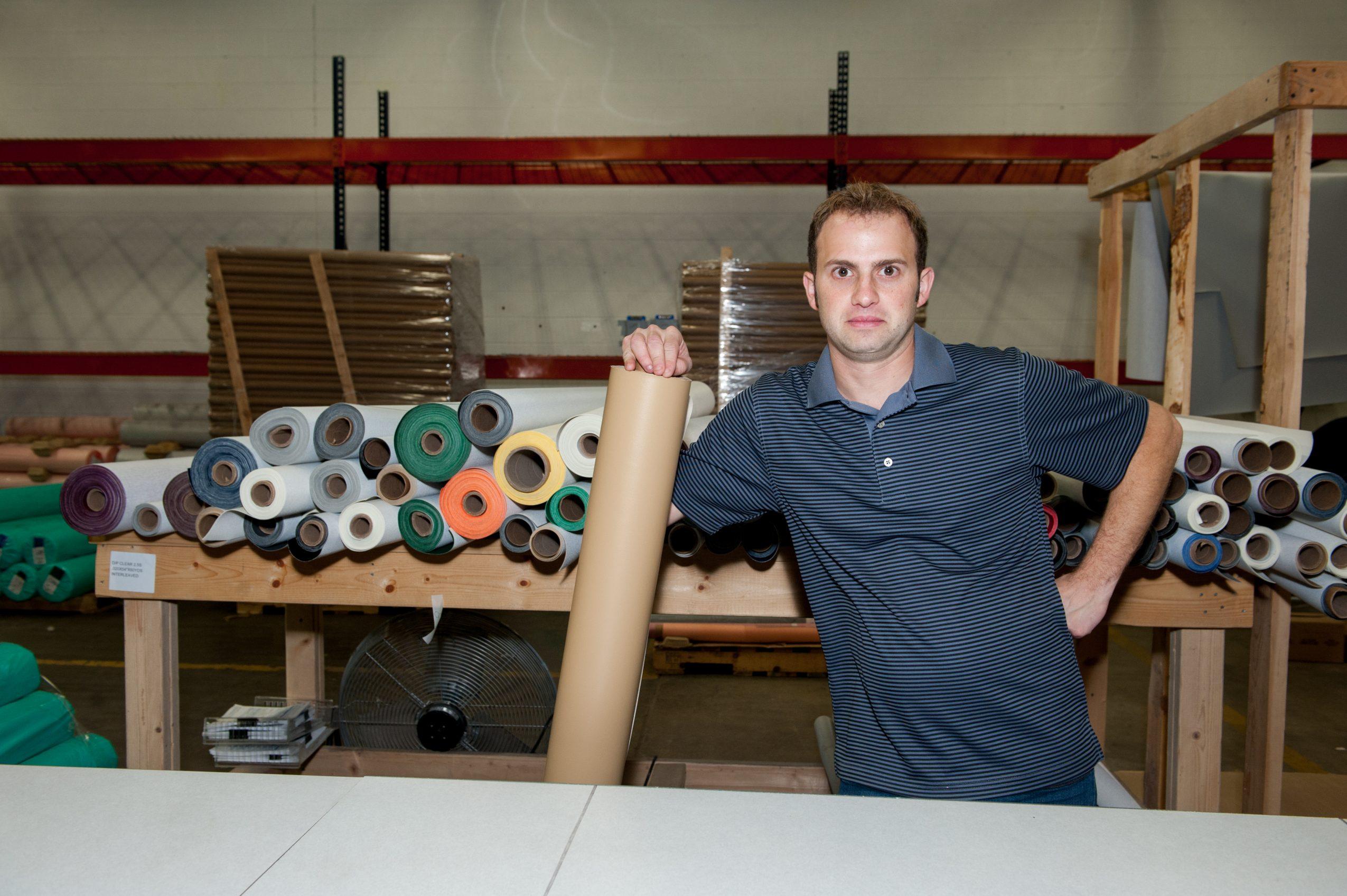 Meet David Goldman of www MarineVinylFabric com in Humboldt