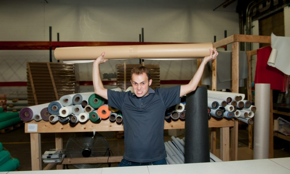 Meet David Goldman of www MarineVinylFabric com in Humboldt